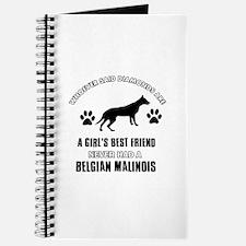 Belgian Malinois Mommy designs Journal