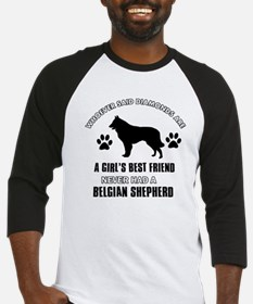 Belgian Shepherd Mommy designs Baseball Jersey