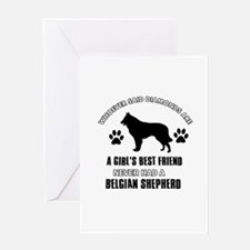Belgian Shepherd Mommy designs Greeting Card