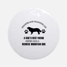 Bernese Mountain Mommy designs Ornament (Round)