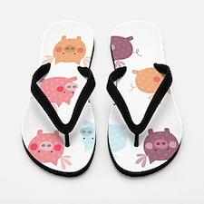 When Pigs Fly Flip Flops
