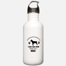 Boxer Mommy designs Water Bottle