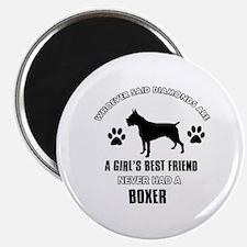 Boxer Mommy designs Magnet