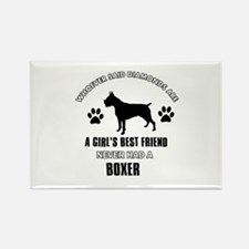 Boxer Mommy designs Rectangle Magnet (10 pack)