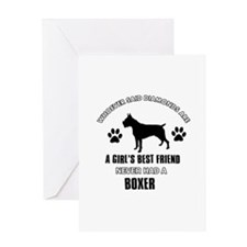 Boxer Mommy designs Greeting Card