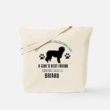Briard Mommy designs Tote Bag