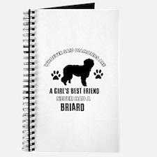 Briard Mommy designs Journal