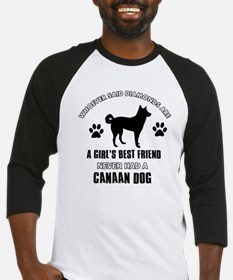Canaan Dog Mommy designs Baseball Jersey