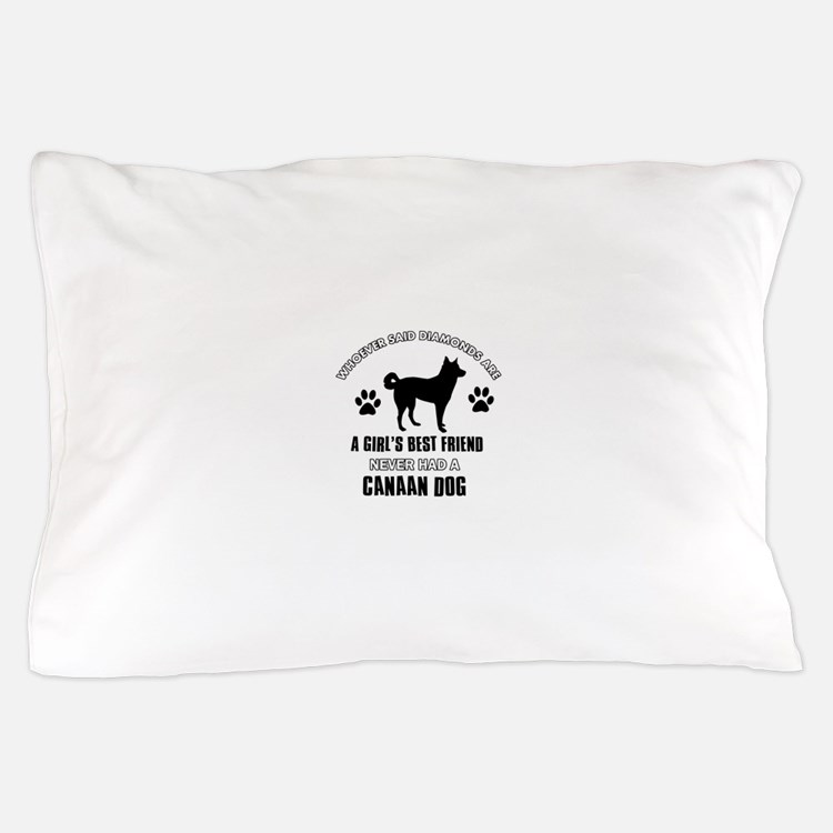 Canaan Dog Mommy designs Pillow Case