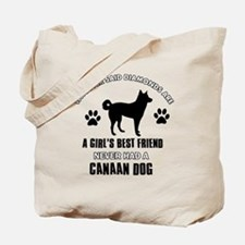 Canaan Dog Mommy designs Tote Bag