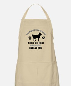 Canaan Dog Mommy designs Apron