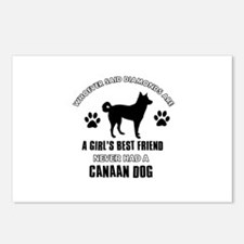 Canaan Dog Mommy designs Postcards (Package of 8)