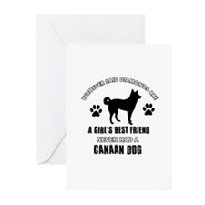 Canaan Dog Mommy designs Greeting Cards (Pk of 10)