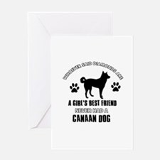 Canaan Dog Mommy designs Greeting Card