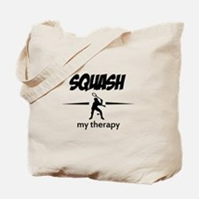 Squash my therapy Tote Bag