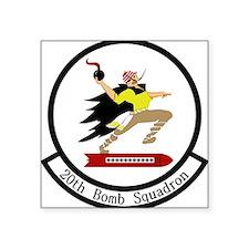 """20th Bomb Squadron Square Sticker 3"""" x 3"""""""