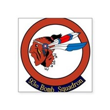 """Cool Barksdale Square Sticker 3"""" x 3"""""""