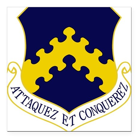 8th FW - Attaquez Et Conquerez.PNG Square Car Magn