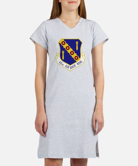 42nd ABW.PNG Women's Nightshirt