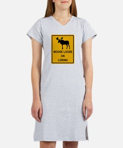 Moose Loose Women's Nightshirt