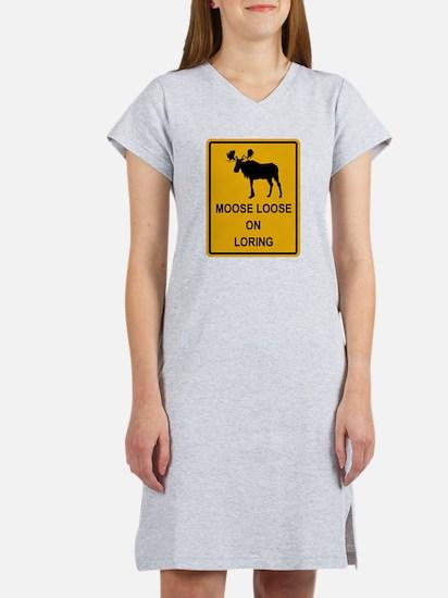 Moose Loose Women's Nightshirt