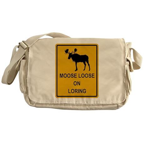 Moose Loose Messenger Bag
