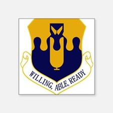 43rd Bomb Wing - Willing-Able-Ready Sticker