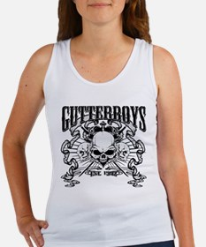 END OF THE ROAD SKULL Tank Top