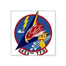"492nd TFS.PNG Square Sticker 3"" x 3"""