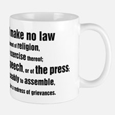 1st Amendment Words Mug