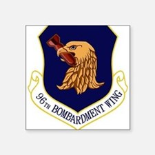"96th Bomb Wing.PNG Square Sticker 3"" x 3"""
