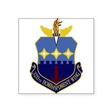 "Unique Air force units Square Sticker 3"" x 3"""