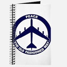 B-52G Peace Sign Journal