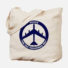 B-52G Peace Sign Tote Bag