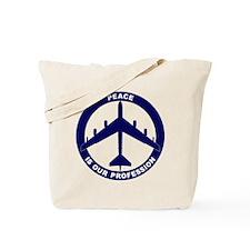 B-52G Peace Sign Tote Bag