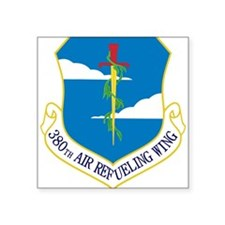 "380th ARW Square Sticker 3"" x 3"""