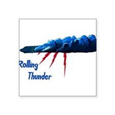 B-52G 58-0165 Rolling Thunder.PNG Square Sticker 3