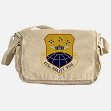 433rd Airlift Wing.PNG Messenger Bag