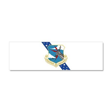 SAC Banner.PNG Car Magnet 10 x 3