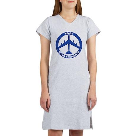 B-52H Peace Sign Women's Nightshirt