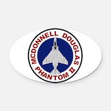 F-4 Phantom II.PNG Oval Car Magnet
