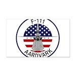 F-111 Aardvark Rectangle Car Magnet