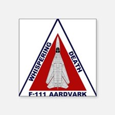 F-111 Aardvark - Whispering Death Square Sticker 3