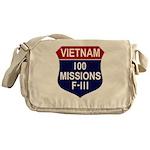 100 Missions - F-111 Messenger Bag