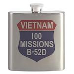 100 MISSIONS - B-52D.PNG Flask