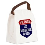 100 MISSIONS - B-52D.PNG Canvas Lunch Bag