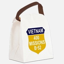400 MISSIONS - B-52.PNG Canvas Lunch Bag