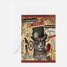 Slighty Strange Card Greeting Cards