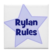 Rylan Rules Tile Coaster