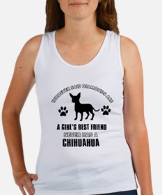 Chihuahua Mommy designs Women's Tank Top